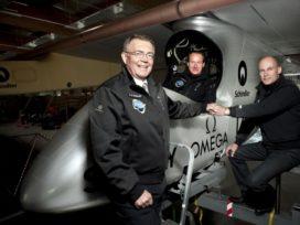 Zonnecellenvliegtuig maakt eerste internationale vlucht