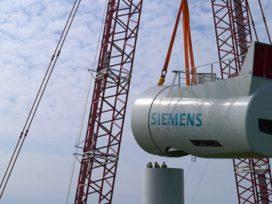 Siemens neemt 6 megawatt windturbine in gebruik