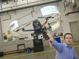 Minihelikopter maakt 3-D beelden