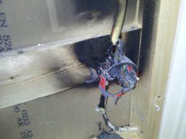 Ondeugdelijke installatie zorgt bijna voor brand