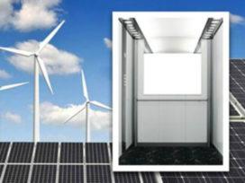 Personenlift op duurzame energie