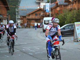Rexel bedwingt Alpe d'Huez