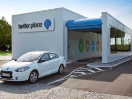 Batterijwisselstation voor elektrische taxi's op Schiphol