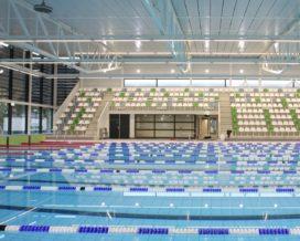 Ledverlichting voor energiezuinig zwembad De Vrolijkheid