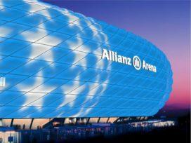 FC Bayern krijgt grootste led-lichtshow in Europa