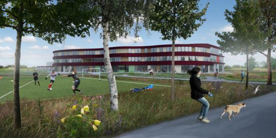 Nieuw vmbo-gebouw voor techniekstad Hengelo (Ov)