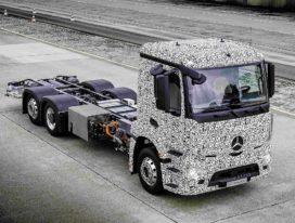 Mercedes-Benz presenteert krachtige elektrische Urban eTruck