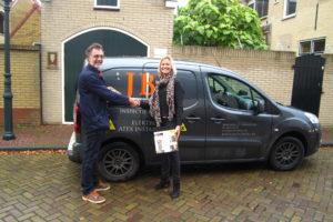 Jaap van den Berg wint thermische multimeter