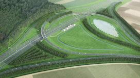 A6 eerste 'nul-op-de-meter' snelweg