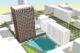 Studententoren Den Haag gaat zeventig meter de lucht in