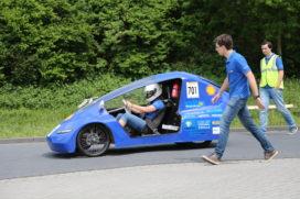 Studenten ontwerpen energiezuinige raceauto