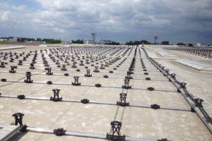 Zonnepanelen voor magazijnen Mosa