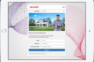Sharp opent webshop voor pv-oplossingen