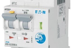 Eaton introduceert nieuwe installatie-automaat met vlamboogdetectie
