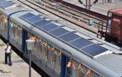 Eerste treinen met zonnepanelen op het dak
