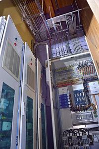 Het 350V DC distributiesysteem, ontwikkeld, geleverd en in bedrijf gesteld door Direct Current.