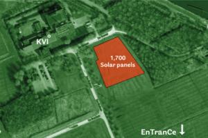 Zonneweide levert energie voor onderzoek