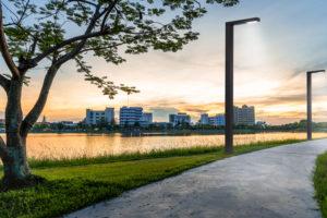 Vernieuwde zonnelichtmast zorgt voor betere lichtverdeling