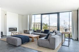 Luxe villa's met een bijpassend lichtbeeld
