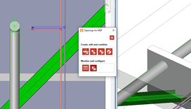 Neem controle over uw MEP-sparingen in Revit