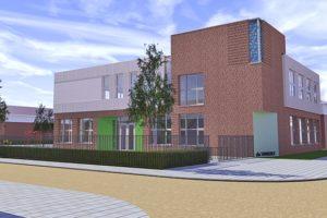 Stekerbare installaties voor nieuwbouw basisschool Zaandam