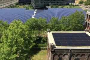 Zonnepanelen voor Carbon6