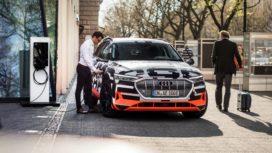 Audi levert laadsysteem voor thuis