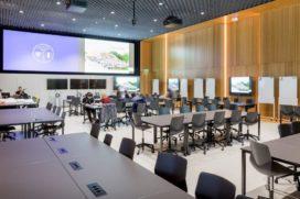 Gelijkstroomnetwerk voor onderwijsgebouw Pulse