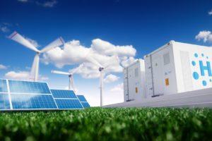 Grootschalige productie van groene waterstofgas in de planning