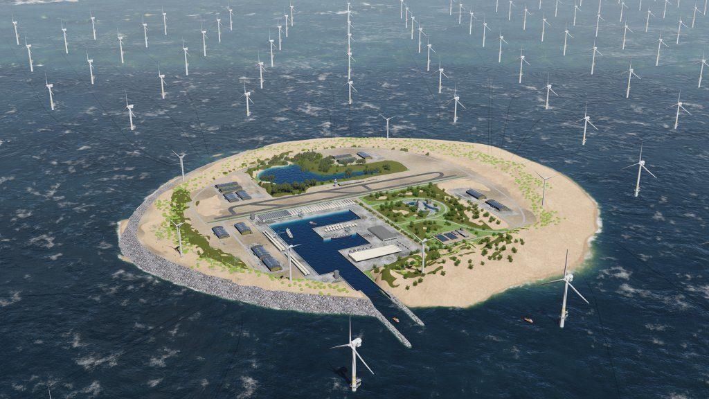 In Nederland is Gasunie verder op diverse projecten met waterstof bezig. Zo kijkt onder de naam North Sea Wind and Power Hub, Gasunie samen met TenneT, het Deense Energinet.dk en de Rotterdamse Haven naar grootschalige omzetting van windenergie. Gedacht wordt aan eilanden in de Noordzee waar groene stroom van de uitgestrekte windparken op zee samenkomt.