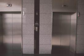Bij brand geen lift?