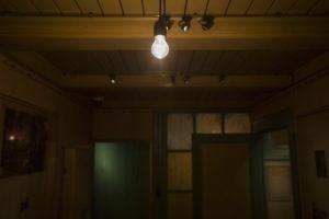 Lichtrails met spots voor Anne Frank Huis