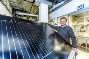 Nieuwe zonnepanelen produceren direct groene waterstof