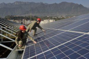 China naar recordhoogte geïnstalleerd PV-vermogen