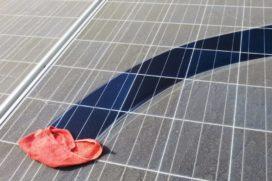 PV levert ruim 10% opbrengst in door luchtvervuiling