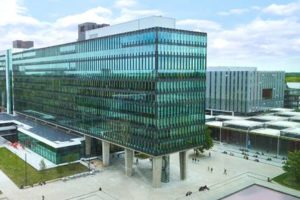 Transformatie voor universiteitsgebouw Atlas