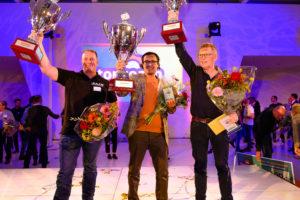 Sanjay Bhoendie, Daan van den Berg en Theo van den Elzen topcoaches van het jaar 2019