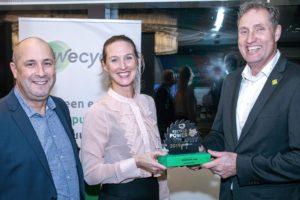 Technische Unie wint Recycle Power Award